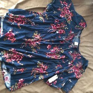 NWT peasant shirt size 2X